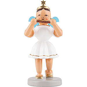 Angels Short Skirt colored (Blank) Angel Short Skirt Colored, Mouth Organ - 6,6 cm / 2.6 inch