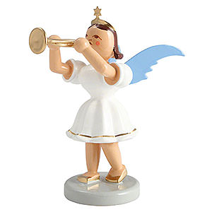 Angels Short Skirt colored (Blank) Angel Short Skirt Colored, Trumpet - 6,6 cm / 2.5 inch