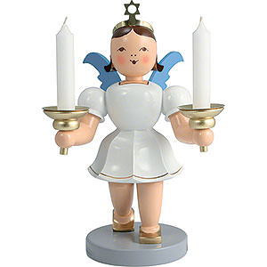 Angels Short Skirt medium colored (Blank) Angel Short Skirt Colored with Candle Holder - 20 cm / 7.9 inch