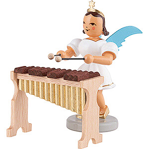 Angels Short Skirt colored (Blank) Angel Short Skirt Colored, with Xylophone - 6,6 cm / 2.6 inch