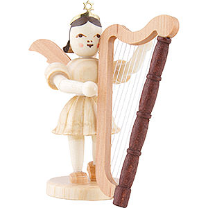 Angels Short Skirt (Blank) Angel Short Skirt Harp, Natural - 6,6 cm / 2.6 inch