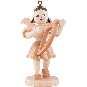 Angels Short Skirt (Blank) Angel Short Skirt Lyre, Natural - 6,6 cm / 2.6 inch