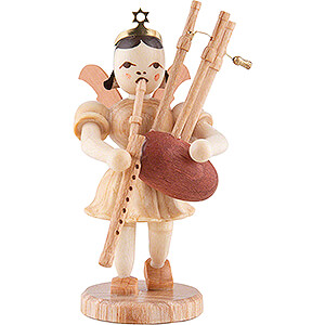 Angels Short Skirt (Blank) Angel Short Skirt with Bagpipe - Natural - 6,6 cm / 2.6 inch