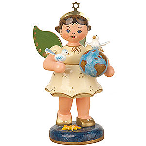 Angels Angels - white (Hubrig) Angel of the World - 10 cm / 4 inch