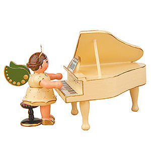 Angels Orchestra (Hubrig) Angel on the Piano - 6,5 cm / 2,5 inch