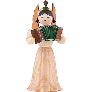 Angels Kuhnert Concert Angels Angel with Accordion - 7 cm / 2.8 inch