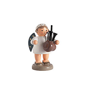 Angels Orchestra of Angels (KWO) Angel with Bagpipe - 5 cm / 2 inch