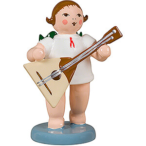 Angels Orchestra (Ellmann) Angel with Balalaika - 6,5 cm / 2.6 inch