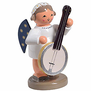 Angels Orchestra of Angels (KWO) Angel with Banjo - 5m / 1 inch