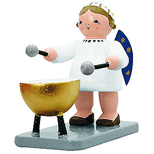 Angels Orchestra of Angels (KWO) Angel with Bass Drum - 5 cm / 2 inch