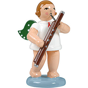 Angels Orchestra (Ellmann) Angel with Bassoon - 6,5 cm / 2.5 inch