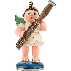 Angels Orchestra (Hubrig) Angel with Bassoon - 6,5 cm / 2,5 inch