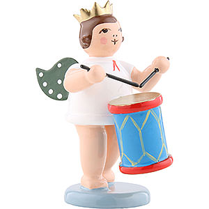Angels Orchestra with crown (Ellmann) Angel with Crown and Churn - 6,5 cm / 2.5 inch