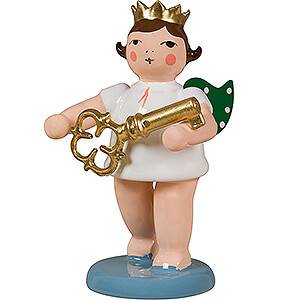 Angels Orchestra with crown (Ellmann) Angel with Crown and Key - 6,5 cm / 2.6 inch