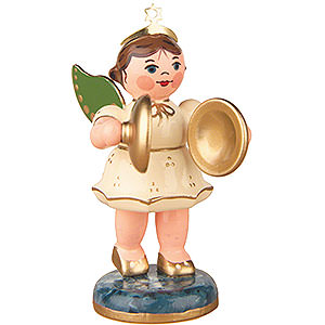 Angels Orchestra (Hubrig) Angel with Cymbals - 6,5 cm / 2,5 inch