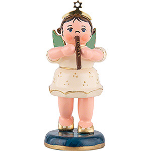 Angels Orchestra (Hubrig) Angel with Flute - 6,5 cm / 2,5 inch
