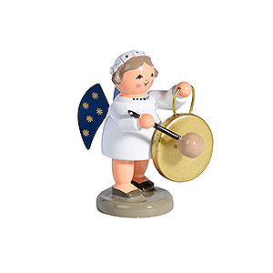 Angels Orchestra of Angels (KWO) Angel with Gong - 5 cm / 2 inch