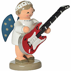 Angels Orchestra of Angels (KWO) Angel with Guitar - 5 cm / 2 inch