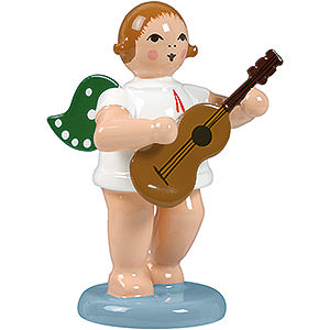 Angels Orchestra (Ellmann) Angel with Guitar - 6,5 cm / 2.5 inch