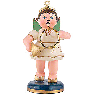 Angels Orchestra (Hubrig) Angel with Horn - 6,5 cm / 2,5 inch