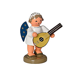 Angels Orchestra of Angels (KWO) Angel with Lute - 5 cm / 0,8 inch