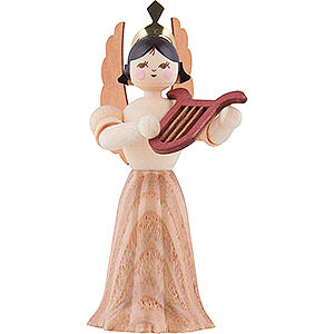 Angels Kuhnert Concert Angels Angel with Lyre - 7 cm / 2.8 inch