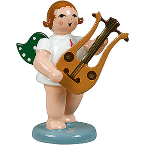 Angels Orchestra (Ellmann) Angel with Lyre Guitar - 6,5 cm / 2.5 inch