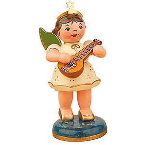 Angels Orchestra (Hubrig) Angel with Mandolin - 6,5 cm / 2,5 inch