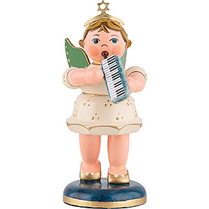 Angels Orchestra (Hubrig) Angel with Melodica - 6,5 cm / 2,5 inch