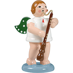 Angels Orchestra (Ellmann) Angel with Old Oboe - 6,5 cm / 2.5 inch