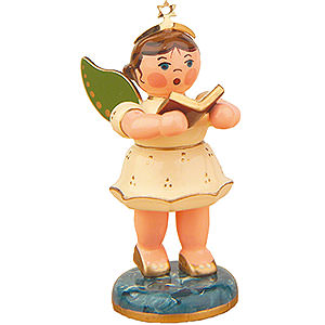 Bestseller Angel with Songbook - 6,5 cm / 2,5 inch