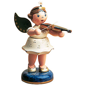 Angels Angels - white (Hubrig) Angel with Violin - 16 cm / 6 inch