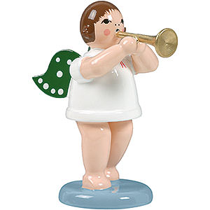 Angels Orchestra (Ellmann) Angel without Crown and Trumpet - 6,5 cm / 2.5 inch
