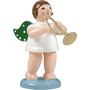 Angels Orchestra (Ellmann) Angel without Crown with Jazz Trumpet - 6,5 cm / 2.5 inch
