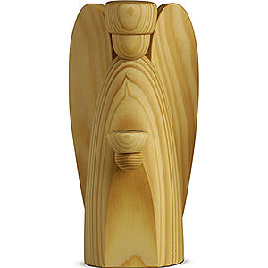 Small Figures & Ornaments Björn Köhler Nativity large natural Angle Candle Holder -, Natural - 17 cm / 6.7 inch