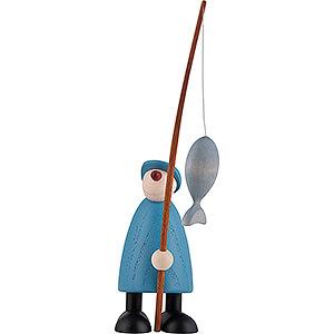 Kleine Figuren & Miniaturen Björn Köhler Gratulanten Angler Ole - 9 cm