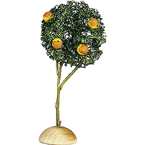 Weihnachtsengel Günter Reichel Dekoration Apfelbäumchen, 3 Stück - 7,5 cm