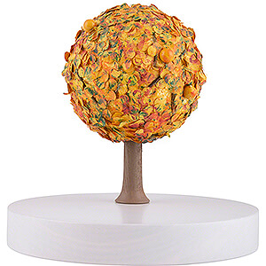 Small Figures & Ornaments Flade Flax Haired Angel Apple Tree Platform - without Figurines - Autumn - 13 cm / 5.1 inch