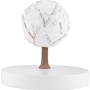 Small Figures & Ornaments Flade Flax Haired Angel Apple Tree Platform - without Figurines - Winter - 13 cm / 5.1 inch