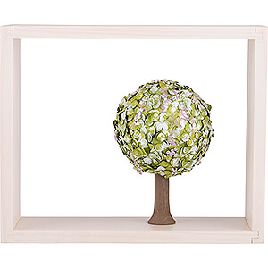 Angels Flade Flax Haired Angels Apple Tree in Frame - without  Figurines - Spring - 13,5 cm / 5.3 inch