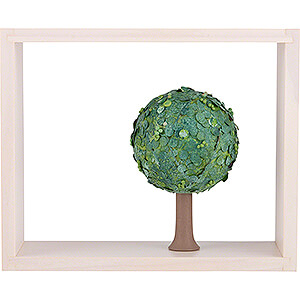 Angels Flade Flax Haired Angels Apple Tree in Frame - without  Figurines - Summer - 13,5 cm / 5.3 inch