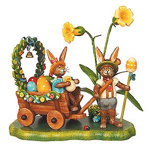Kleine Figuren & Miniaturen Tiere Hasen Auf zur Frühlingswiese - 14 cm