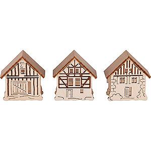Angebote Aufsteckhäuser - 3er-Set - 5,5x5 cm