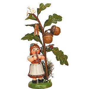 Small Figures & Ornaments Hubrig Autumn Kids Autumn Child Acorn - 13 cm / 5 inch