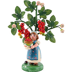 Small Figures & Ornaments Hubrig Autumn Kids Autumn Kids Figure of the Year 2016 Red Currant - 13 cm / 5.1 inch