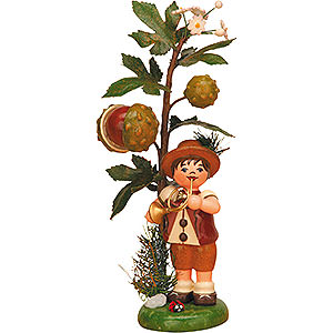 Small Figures & Ornaments Hubrig Autumn Kids Autums Child Chestnut - 13 cm / 5 inch