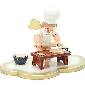 Weihnachtsengel Bäckerengel (Ulbricht) Bäckerengel auf Wolke - 7,0 cm