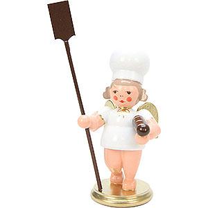 Weihnachtsengel Bäckerengel (Ulbricht) Bäckerengel mit Brotschieber - 7,5 cm