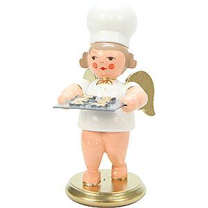Weihnachtsengel Bäckerengel (Ulbricht) Bäckerengel mit Kuchenblech - 7,5 cm