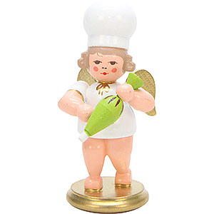 Weihnachtsengel Bäckerengel (Ulbricht) Bäckerengel mit Spritztüte - 7,5 cm